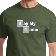 Say My Name Mens Shirts