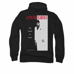 Scarface Hoodie Sweatshirt Classic Black Adult Hoody Sweat Shirt