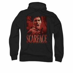 Scarface Hoodie Sweatshirt Opportunity Black Adult Hoody Sweat Shirt
