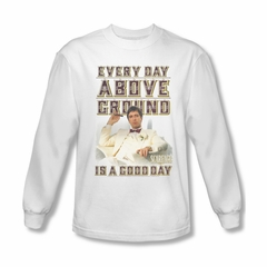 Scarface Shirt Above Ground Long Sleeve White Tee T-Shirt
