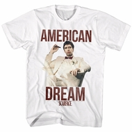 Scarface Shirt American Dream White T-Shirt