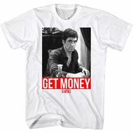 Scarface Shirt Get Money White T-Shirt