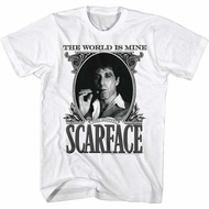 Scarface Shirt Money White T-Shirt
