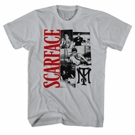 Scarface Shirt Pictures Silver T-Shirt