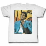 Scarface Shirt Sling White T-Shirt