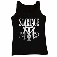 Scarface Shirt Tank Top Symbol Black Tanktop