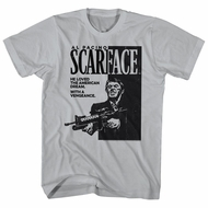 Scarface Shirt The American Dream Silver T-Shirt