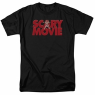 Scary Movie Shirt Logo Black T-Shirt