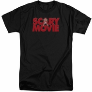 Scary Movie Shirt Logo Tall Black T-Shirt