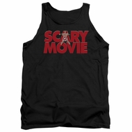 Scary Movie  Tank Top Logo Black Tanktop