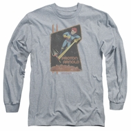 Scorpion Long Sleeve Shirt Proton Arnold Athletic Heather Tee T-Shirt
