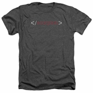 Scorpion Shirt Logo Heather Charcoal T-Shirt