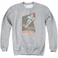 Scorpion Sweatshirt Proton Arnold Adult Athletic Heather Sweat Shirt