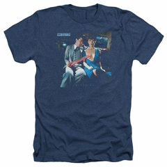 Scorpions Shirt Love Drive Heather Navy T-Shirt