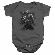 Scott Weiland Baby Romper On Stage Charcoal Infant Babies Creeper