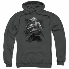 Scott Weiland Hoodie On Stage Charcoal Sweatshirt Hoody