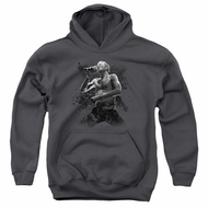 Scott Weiland Kids Hoodie On Stage Charcoal Youth Hoody