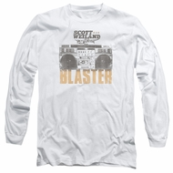 Scott Weiland Shirt Blaster Long Sleeve White Tee T-Shirt