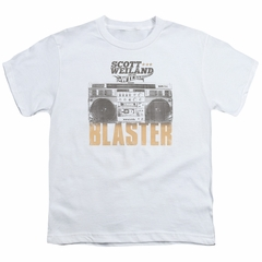 Scott Weiland Shirt Kids Blaster White T-Shirt