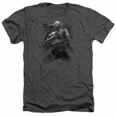 Scott Weiland Shirt On Stage Heather Charcoal T-Shirt