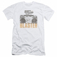 Scott Weiland Shirt Slim Fit Blaster White T-Shirt