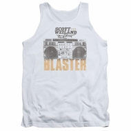 Scott Weiland Shirt Tank Top Blaster White Tanktop