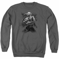 Scott Weiland Sweatshirt On Stage Adult Charcoal Sweat Shirt