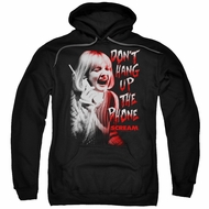 Scream  Hoodie Don't Hang Up The Phone Black Sweatshirt Hoody