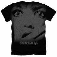 Scream Shirt Poster Heather Black T-Shirt