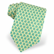Sea Turtle Yellow Silk Tie Necktie - Men's Animal Print Neck Tie