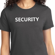 Security Guard Ladies Shirts