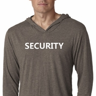 Security Guard Lightweight Hoodie Shirt