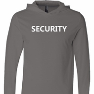 Security Guard Lightweight Hoodie Tee
