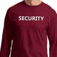Security Guard Long Sleeve Shirt