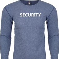 Security Guard Long Sleeve Thermal Shirt