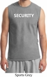 Security Guard Mens Muscle Shirt