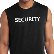 Security Guard Mens Sleeveless Moisture Wicking Shirt