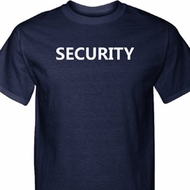 Security Guard Mens Tall Shirt