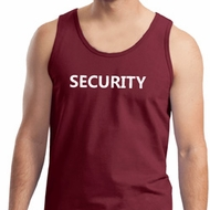 Security Guard Mens Tank Top
