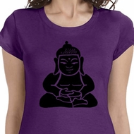 Shadow Buddha Ladies Yoga Shirts