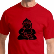 Shadow Buddha Mens Yoga Shirts
