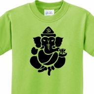 Shadow Ganesha Kids Yoga Shirts