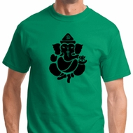 Shadow Ganesha Mens Yoga Shirts