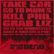 Shaun Of The Dead To Do List Shirts