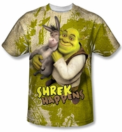 Shrek Best Friends Sublimation Shirt