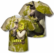 Shrek Best Friends Sublimation Shirt Front/Back Print