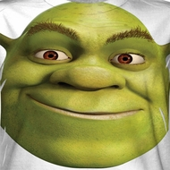 Shrek Head Sublimation Shirts