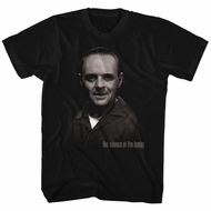 Silence Of The Lambs Shirt Hannibal Lecter Black T-Shirt
