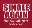 Single Shirt - More Experience Funny Adult Red Tee
