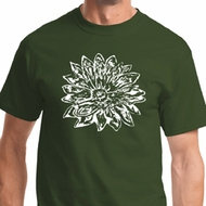 Sketch Lotus Mens Yoga Shirts